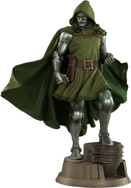 Estátua Doutor Destino Doctor Doom Marvel Comics Escala 1/4 Premium Format - Sideshow Collectible -CD