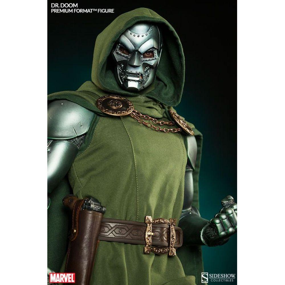 Estátua Doutor Destino Doctor Doom Marvel Comics Escala 1/4 Premium Format - Sideshow Collectible -CD