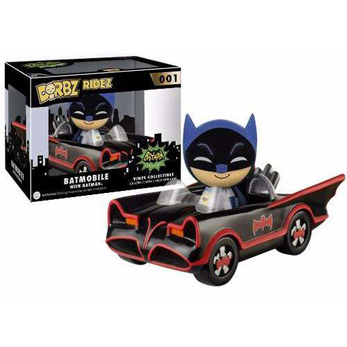 Funko Dorbz Ridez Batman With Batmobile: Batman (1966) #001 - Funko