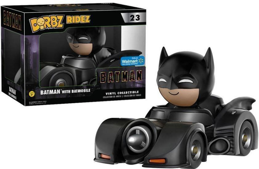 Funko Dorbz Ridez Batman With Batmobile: Batman (1989) #23 - Funko