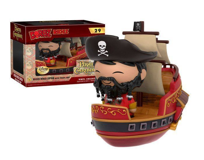 Funko Dorbz Ridez Wicked Wench Captain: Piratas Do Caribe (Pirates Of The Caribbean) #29 - Funko