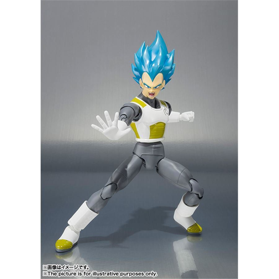 Dragon Ball Super Saiyan God Vegeta S.H.Figuarts - Bandai