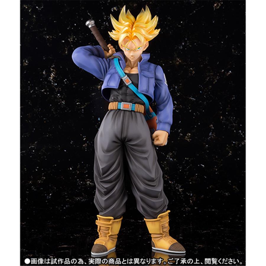 Estátua Trunks Super Sayajin (Saiyan): Dragon Ball Z FiguartsZERO EX Escala 1/6 - Bandai