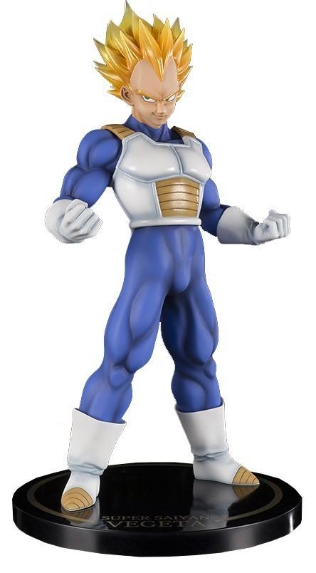 Estátua Vegeta Super Sayajin (Saiyan): Dragon Ball Z Figuarts ZERO EX Escala 1/6 - Bandai
