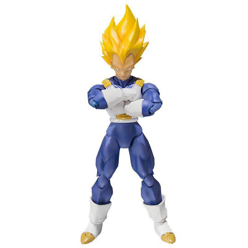 Boneco Vegeta Super Sayajin : Dragon Ball Z (P.C.E) S.H Figuarts - Bandai - Black Friday (Apenas Venda Online)