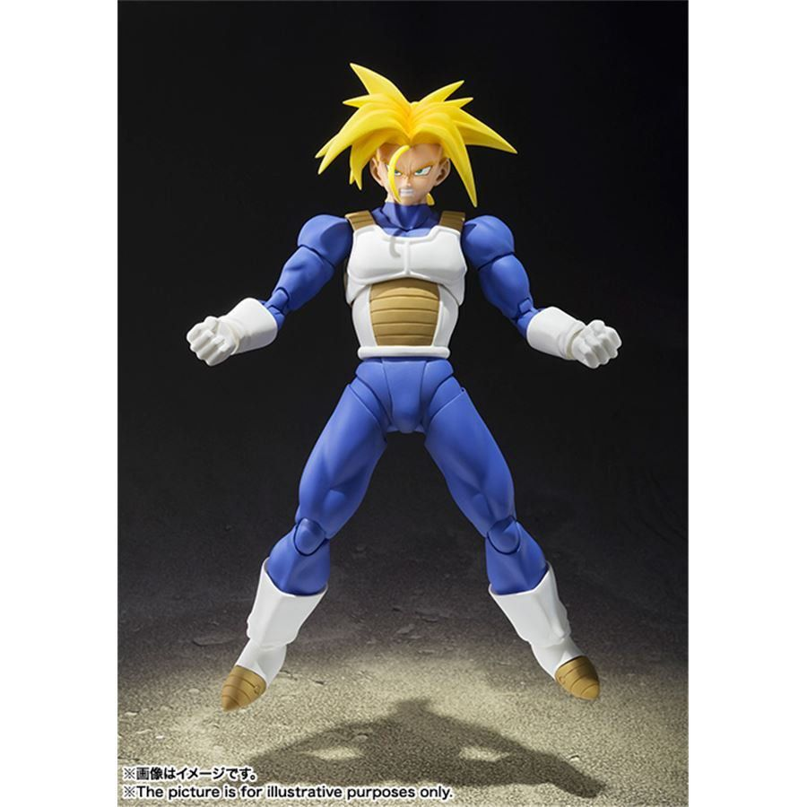 Dragon Ball Z Trunks Super Saiyan S.H.Figuarts - Bandai