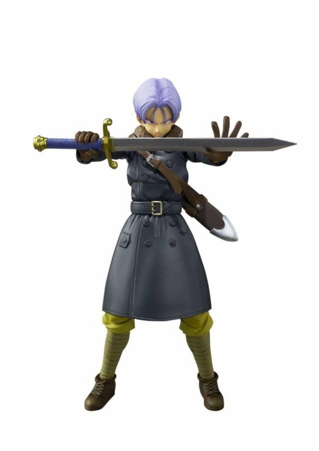 Boneco Trunks: Dragon Ball Xenoverse S.H.Figuarts - Bandai