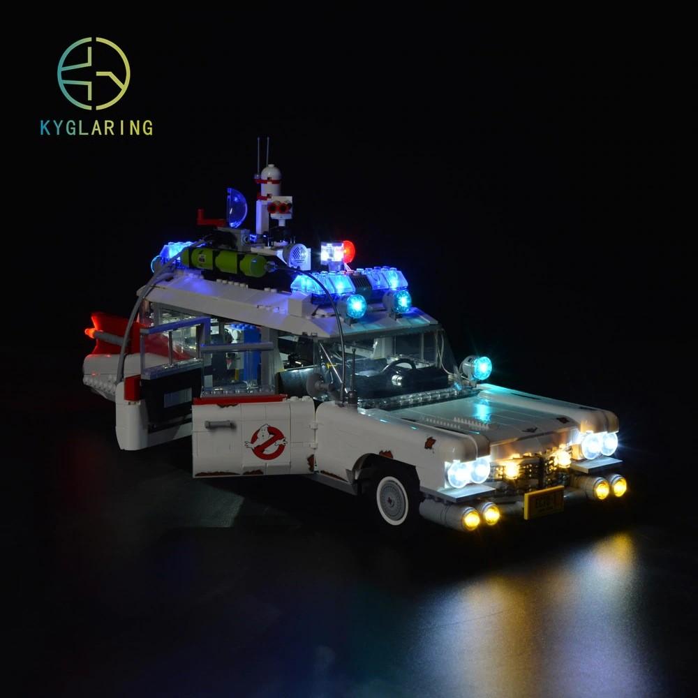 Ecto-1 Ghostbusters Os Caças Fantasmas Carro Com Luz e Som Lego - ET