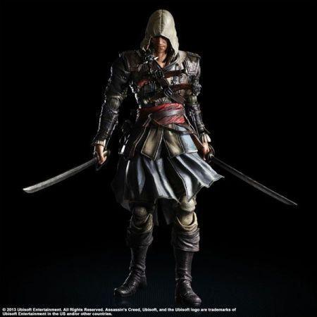 Edward Kenway Assassin's Creed IV Black Flag - Play Arts