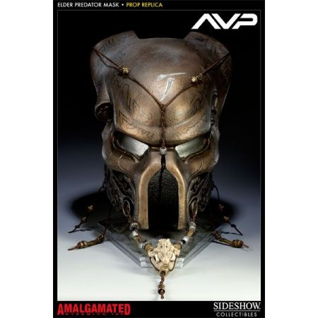Elder Ceremonial Predador / Predator Máscara Réplica 1:1 - Sideshow