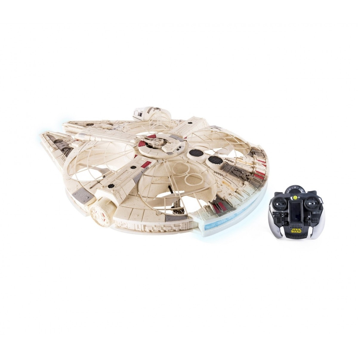 Air Hogs Drone Millennium Falcon XL: Star Wars com Controle remoto