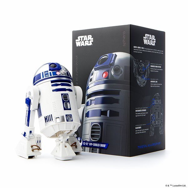 EM BREVE: Andoid R2-D2 Sphero App-Enabled Droid (Controle Remoto via Smartphone)