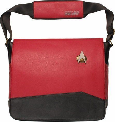 Bolsa Lateral Star Trek TNG Uniforme de Mensageiro - Exclusivo Comando Vermelho