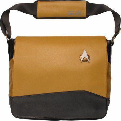 Bolsa Lateral Star Trek TNG Uniforme de Mensageiro -Exclusivo Operações Amarelo