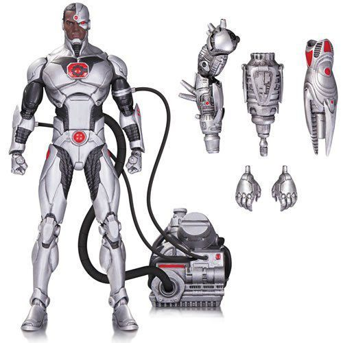 Boneco Deluxe Cyborg Forever Evil: DC Icons - DC Collectibles