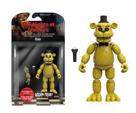 Funko Boneco Golden Freddy: Five Nights At Freddy's (FNAF) - Funko