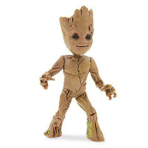 Boneco Groot: Guardiões da Galáxia Vol. 2 Wind-Up - Disney