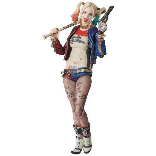 Boneco Harley Quinn: Esquadrão Suicida MAFEX - Medicom