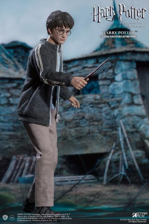 Boneco Harry Potter: Harry Potter e o Prisioneiro de Azkaban Escala 1/6 - Star Ace