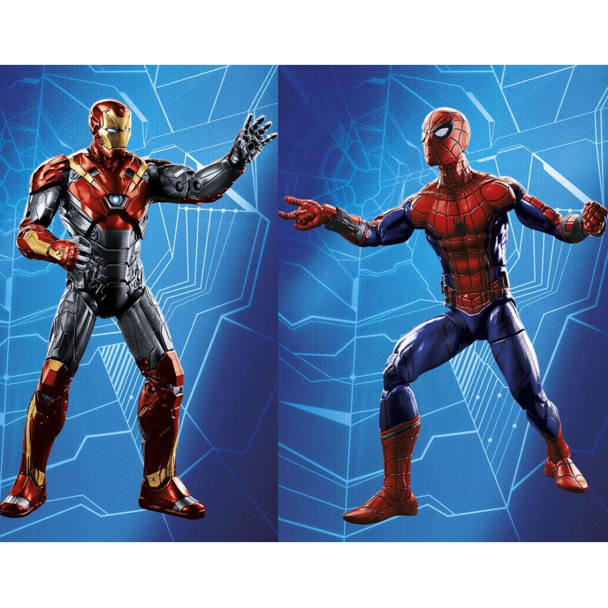 EM BREVE: Boneco Homem-Aranha e Homem de Ferro: Homem-Aranha de Volta ao Lar (Spider-Man Homecoming) (2-Pack) - Hasbro