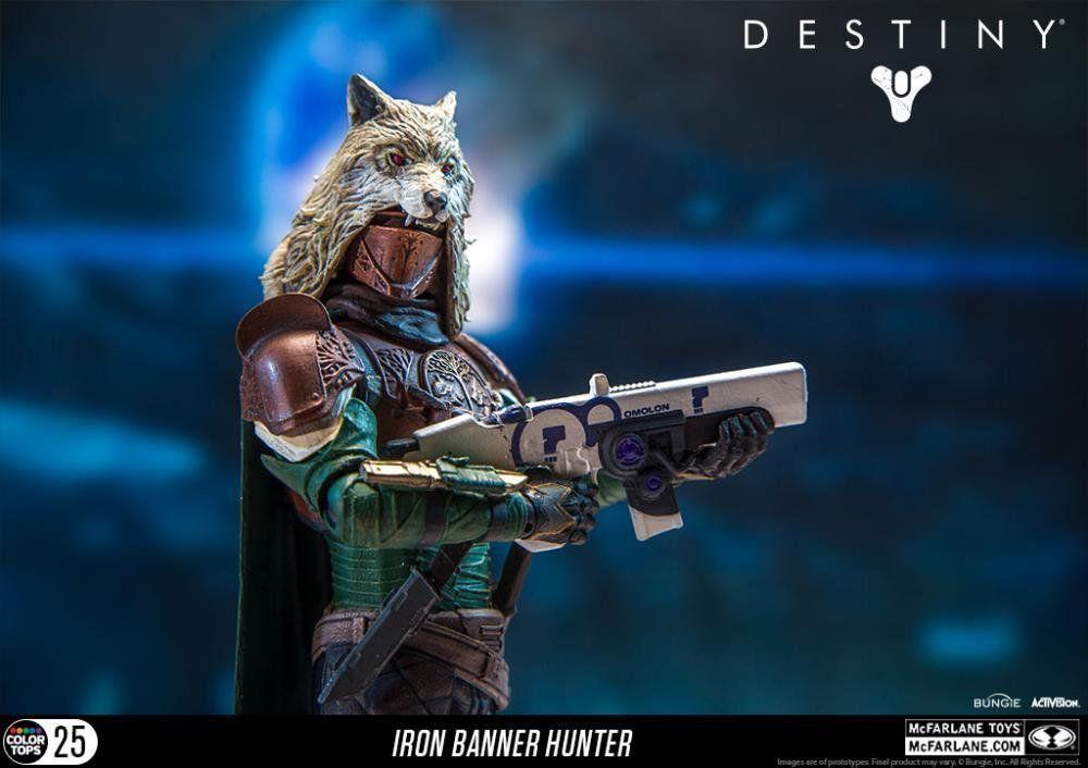 Boneco Iron Banner Hunter: Destiny Color Top Series - Mcfarlane Toys
