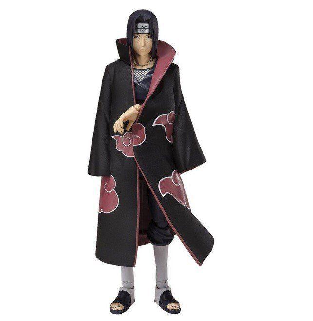 Boneco Itachi Uchiha: Naruto Shippuuden S.H.Figuarts Escala 1/12 - Bandai - CD