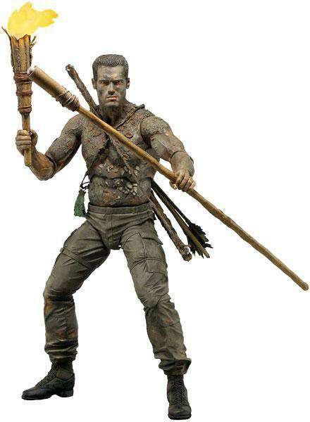 Boneco Jungle Disguise Dutch (Arnold Schwarzenegger): Predador / Predator 1987 30th Anniversary Series 9 - NECA
