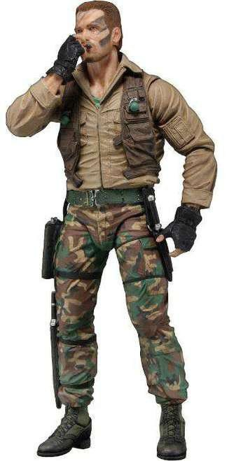 Boneco Jungle Extraction Dutch (Arnold Schwarzenegger): Predador / Predator 1987 30th Anniversary Series 9 - NECA