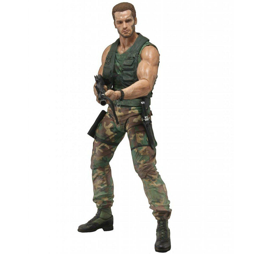 Boneco Jungle Patrol Dutch (Arnold Schwarzenegger): Predador / Predator 1987 30th Anniversary Series 9 - NECA