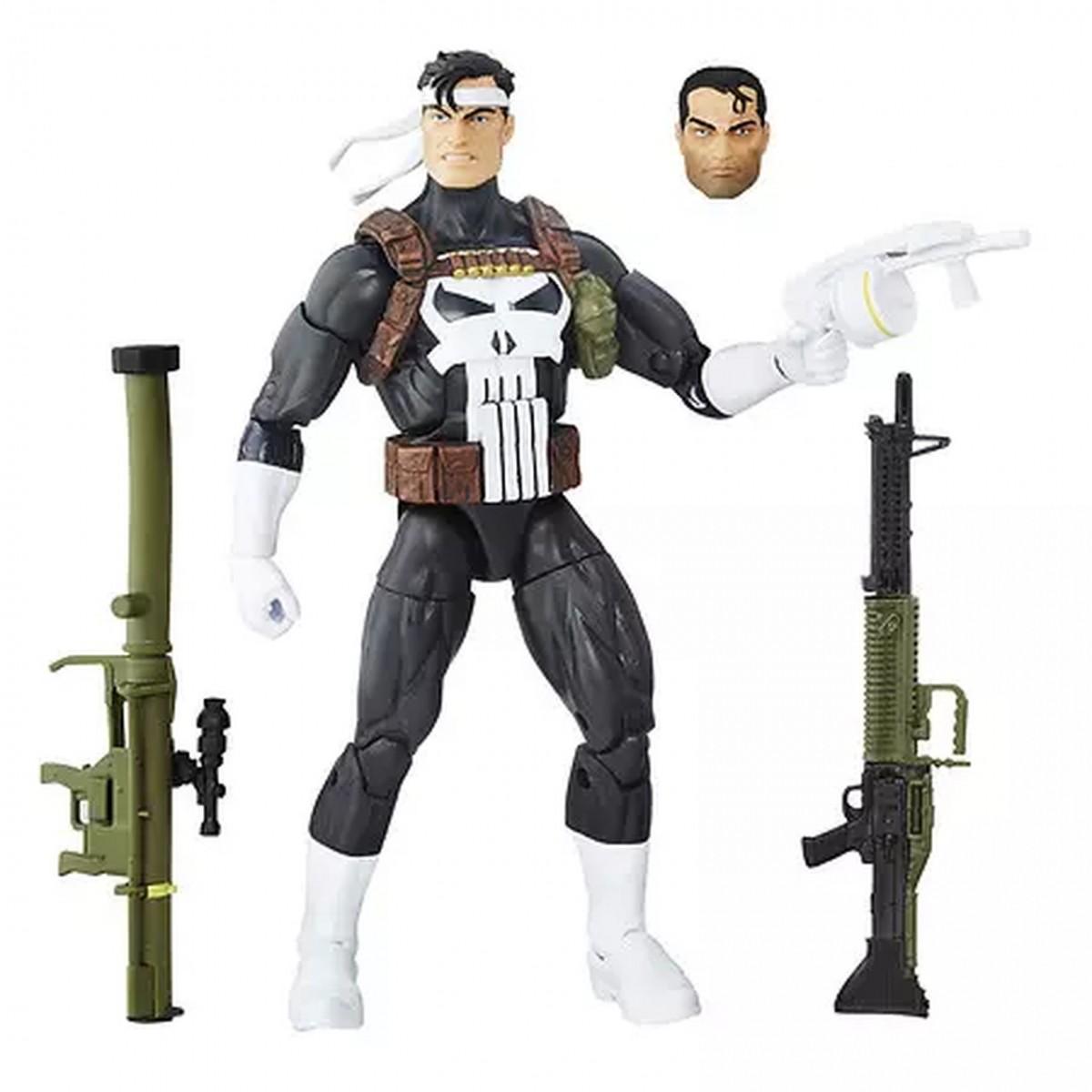 Boneco Justiceiro (The Punisher) Clássico: Marvel Legends - Hasbro