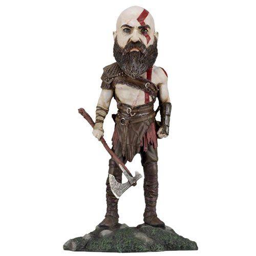 EM BREVE: Boneco Kratos: God of War (2018) Head Knockers Bobble Head - NECA