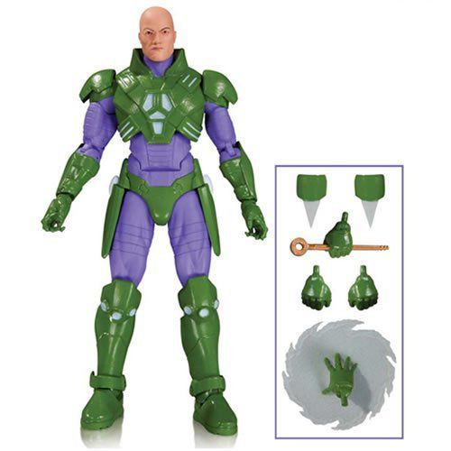 Boneco Lex Luthor Forever Evil: DC Icons - DC Collectibles