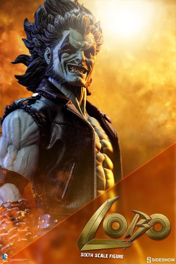 Boneco Lobo: DC Comics Escala 1/6 - CD