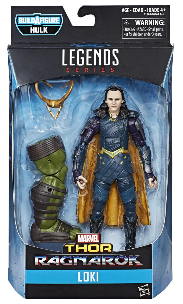 EM BREVE: Boneco Loki: Thor Ragnarok Marvel Legends - Hasbro