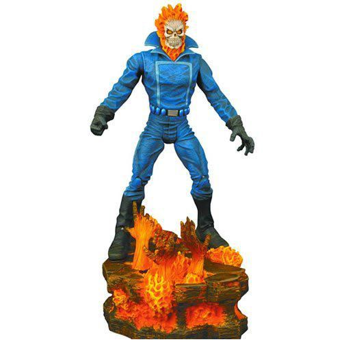 Boneco Motoqueiro Fantasma (Ghost Rider): Marvel Select - Diamond Select