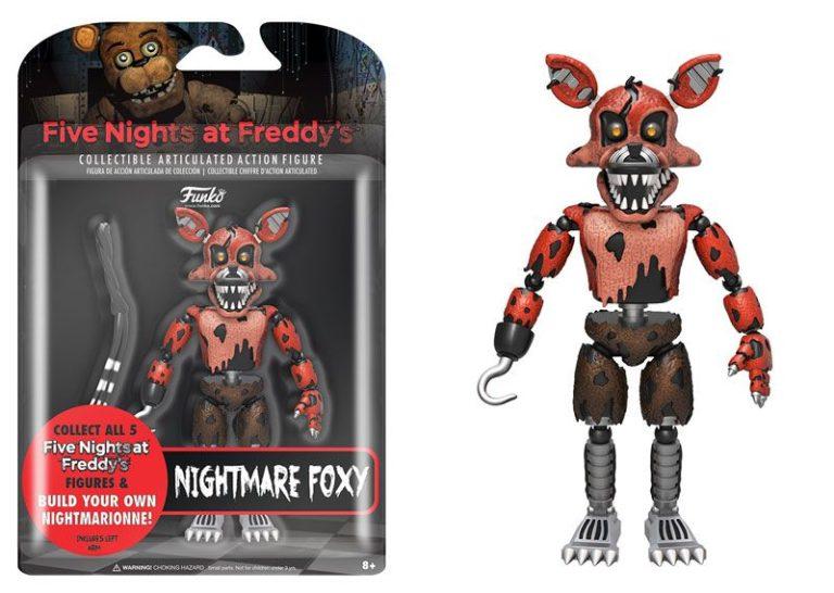 Funko Boneco Nightmare Foxy: Five Nights at Freddy's (FNAF) - Funko