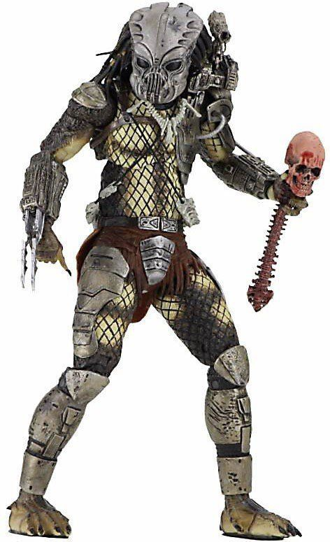 Boneco Predador / Predator Jungle Hunter Masked (Prototype): Predador / Predator 1987 30th Anniversary Series 9 - NECA