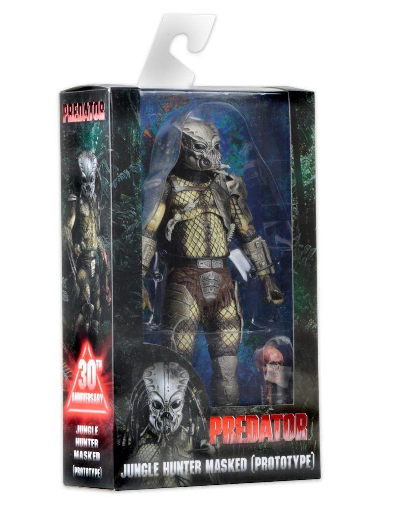 Boneco Predador / Predator Jungle Hunter Masked (Prototype): Predador / Predator 1987 30th Anniversary Series 9 - NECA