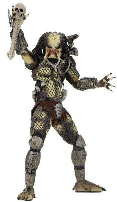 Boneco Predador / Predator Jungle Hunter Unmasked: Predador / Predator 1987 30th Anniversary Series 9 - NECA