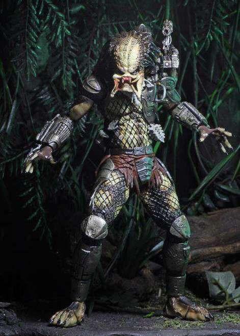 Boneco Predador / Predator Jungle Hunter Unmasked: Predador / Predator 1987 30th Anniversary Series 9 - NECA
