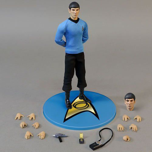 Boneco Spock: Star Trek One:12 Collective Escala 1/12 - Mezco