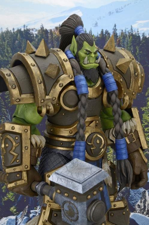 Boneco Thrall: Heroes of The Storm, World of Warcraft - NECA