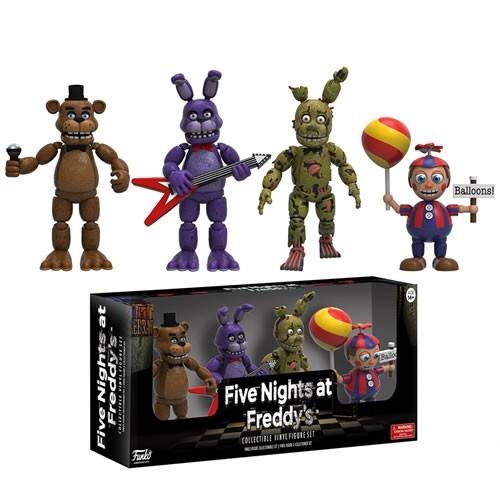 Funko Bonecos Five Nights At Freddy's Pack 4 personagens FNAF - Funko