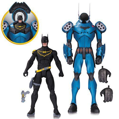 Bonecos Pack Batman DC Designer (By Greg Capullo) - Dc Collectibles