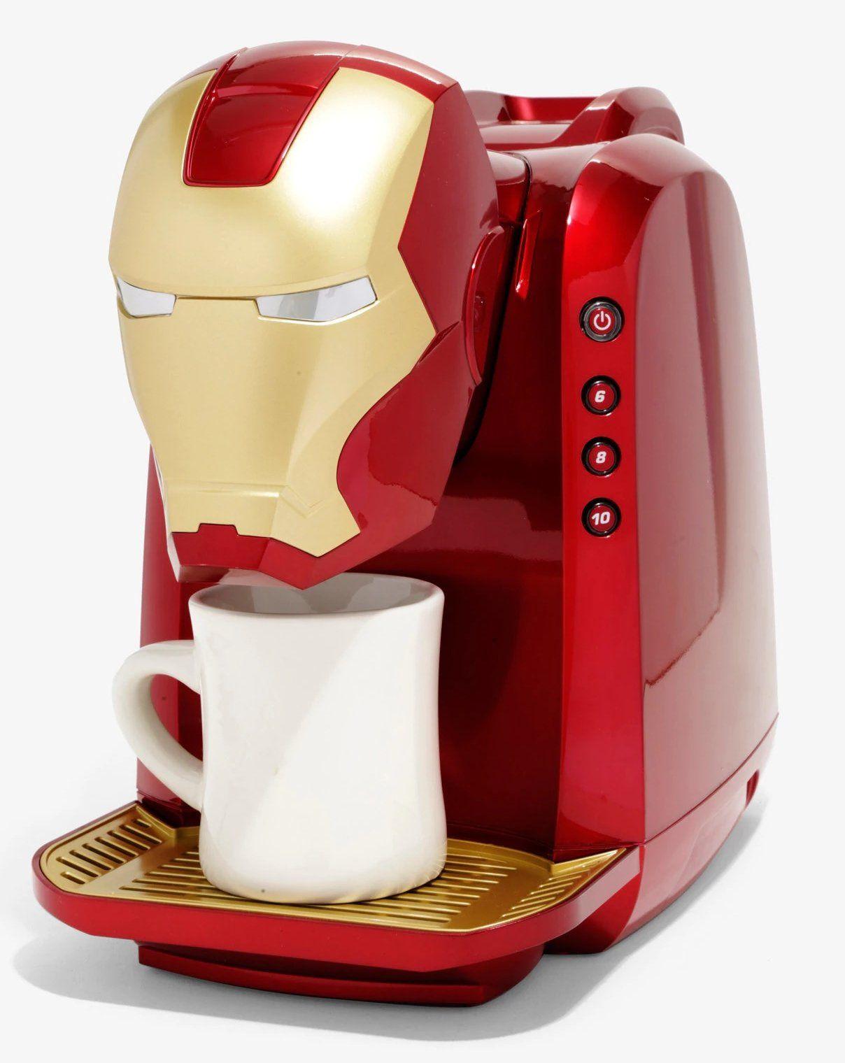 Cafeteira Homem de Ferro (Iron Man): Marvel (MVA-802) (Apenas Venda Online)