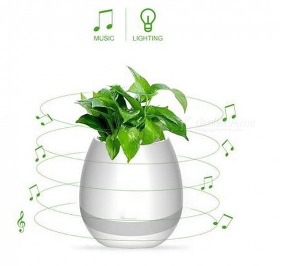 EM BREVE: Caixa de som Bluetooth Vaso de flores