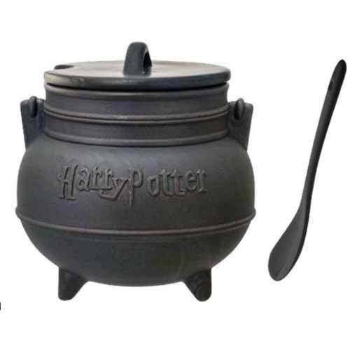 Caldeirão com Colher Harry Potter: Drinkware - Monogram
