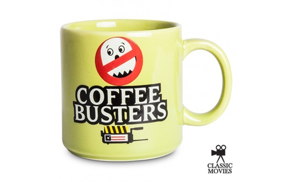 Caneca Coffee Busters: Caça-Fantasmas (Ghostbusters)