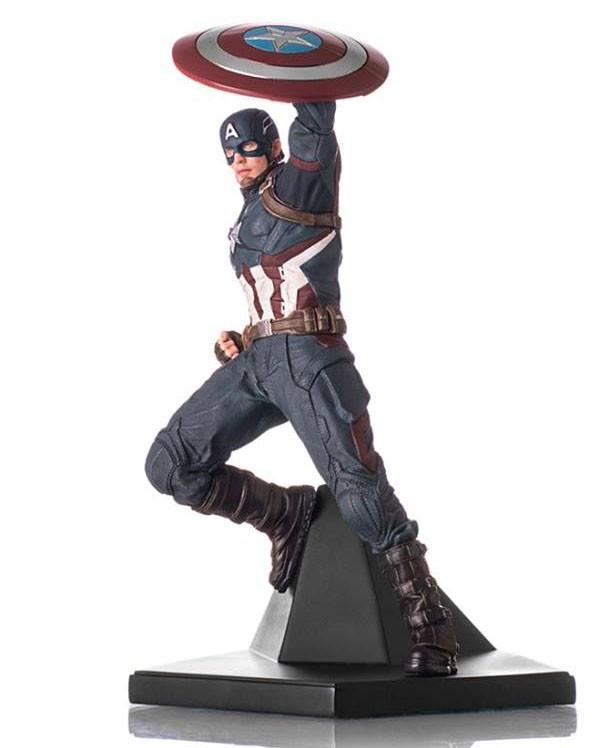 Estátua Capitão América: Guerra Civil Art Scale Escala 1/10 - Iron Studios