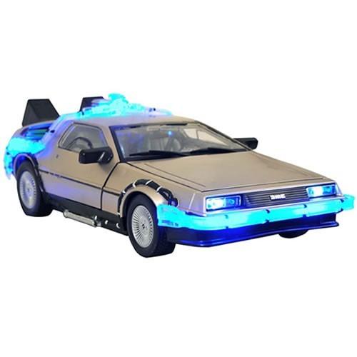 EM BREVE: Carro DeLorean Mark I Time Machine: De Volta Para o Futuro 2 Escala 1/18 - Diamond Select